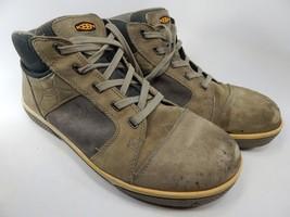 Keen Destin Mid Top Size 12 2E WIDE EU 46 Men's Steel Toe Work Shoes 1011351