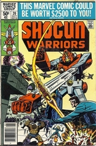 (CB-9) 1980 Marvel Comic Book: Shogun Warriors #20 - $8.00