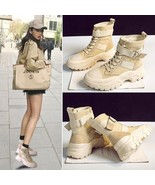 Winter Female Round Head Martin Boots Fashion Lace Up Autumn Shoes Woman... - $30.30