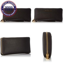 Michael Kors Women'S Jet Set Travel Leather Continental Wallet Wristlet ... - $111.52