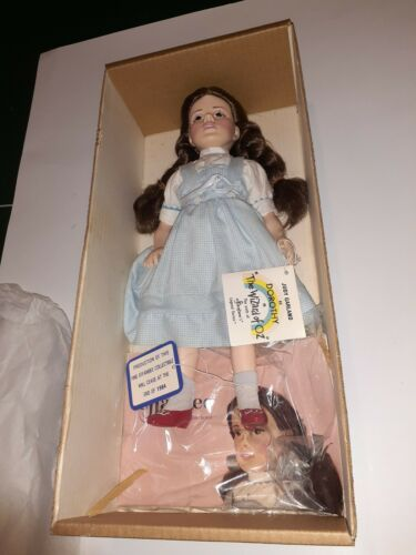 """MAE WEST /""""COME UP AND SEE ME/"""" 17/"""" VINYL DOLL 1982! WITH ORIGINAL BOX EFFANBEE"""