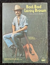 1973 Bad Bad Leroy Brown Recorded By Jim Croce Sheet Music - $8.90