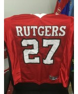 Trikot Rutgers Scarlet Knights football (M Youths) Nike NCAA NFL Shirt J... - $21.63