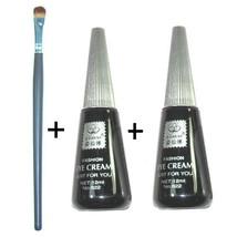 2x Super Black Eyelashes Glue Eyelash Extension + Brush - $6.85
