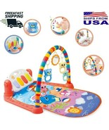 Xmas Gift Baby Gym Play Mat Musical Activity Center Kick And Play Piano ... - $48.71