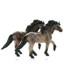 Hagen Renaker Miniature Horse Mustang Stallion Light Bay Ceramic Figurine image 8