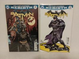 BATMAN REBIRTH #1 - 20 + VARIANT #1 + DC UNIVERSE REBIRTH #1 - FREE SHIP... - $51.43
