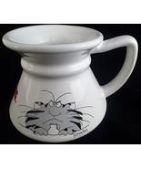 Sandra Boynton Keep Your Paws Off My Coffee Mug Cat No Spill 10 Oz Travel - $12.86