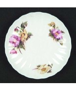 """Shelley Begonia Saucer 5 7/8 """" Pink and Yellow Flowers - $5.45"""
