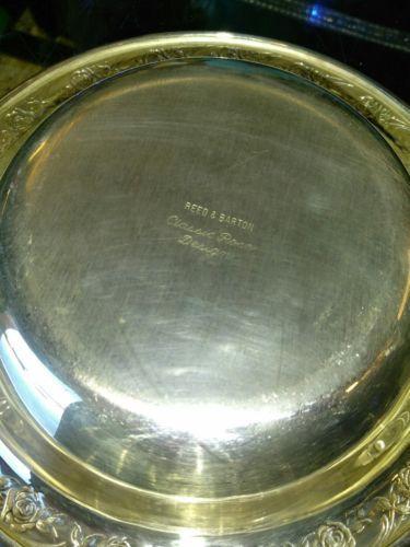 Reed Barton Silver Small Round Tray And 50 Similar Items