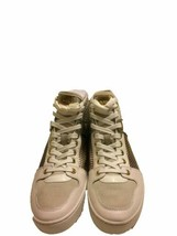 Michael Kors Matty Leather High-Top Sneaker (Beige, 8.5) - $99.90