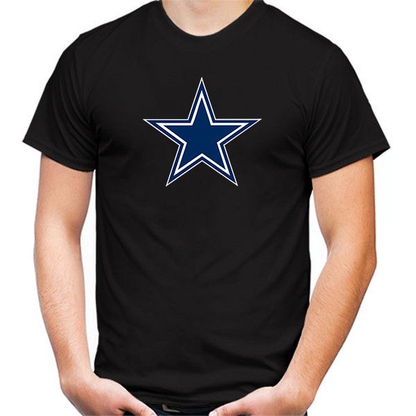 Primary image for Dallas Cowboys Tshirt Black Color Short Sleeve Size S-3XL