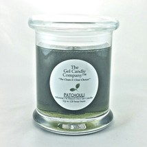 Patchouli Scented Gel Candle - 120 Hour Deco Jar - €12,17 EUR