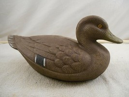 Mallard paper mache' decoy, General Fibre Co Ariduk, St. Louis 2 Mo -Gla... - $48.99