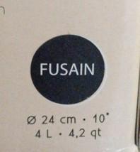 Emile Henry 4.2 Qt. Round Covered Casserole Fusain (Black) NIB image 2