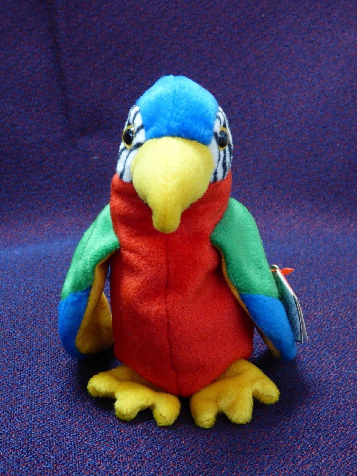 6583fd79b87 Ty Beanie Babies JABBER Parrot Plush Stuffed and similar items. 57