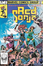 Red Sonja Comic Book Volume 2 #2 Marvel Comics 1983 FINE+ - $4.99