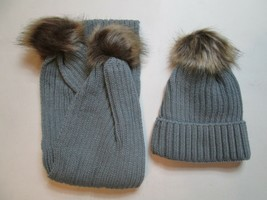OSHKOSH B/'GOSH  GIRLS  WINTER HAT AND MITTEN SET SIZES 3-9  12-24M AND 2-4T NWT