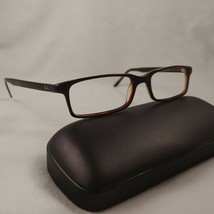 RAY-BAN Rx Eyeglasses Frame RB5095 2240 Brown Green Full Rim Plastic Rec... - $42.70