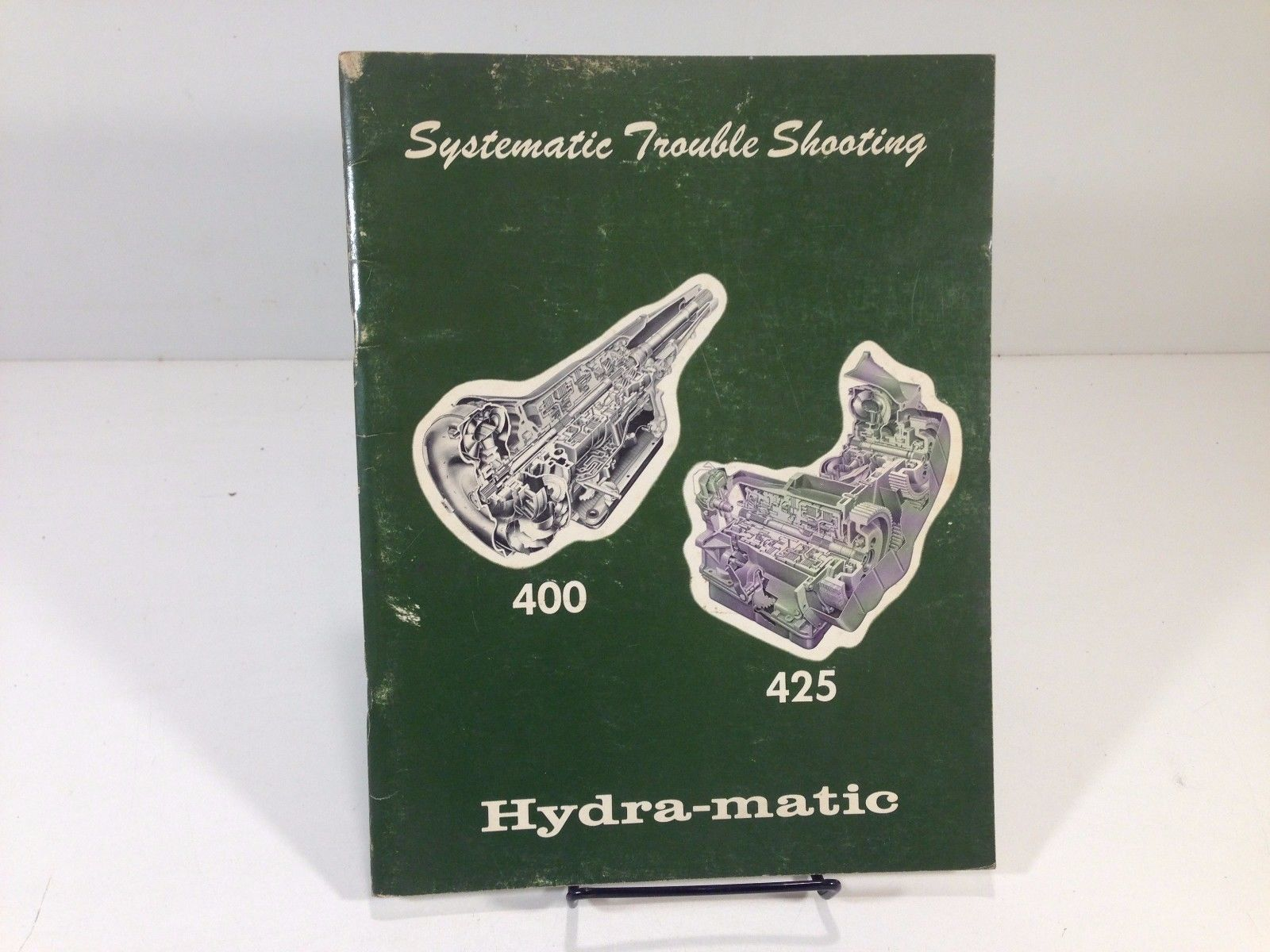 1969 Hydra-Matic 400 425 Systematic Trouble Shooting OEM Original Factory