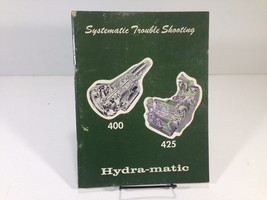 1969 Hydra-Matic 400 425 Systematic Trouble Shooting OEM Original Factory - $12.99