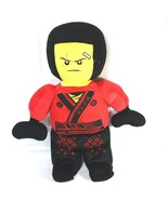 Lego Ninjago Plush Stuffed Toy Red Ninja Warrior 2015 - 20 inch - $12.86