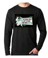 i like skinny girls  :Long sleeve shirt  Cool Funny Humorous long sleeve... - $19.99