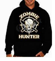 hoodies:zombie hunter skull hoodie sweater shirt hoody - $15.00