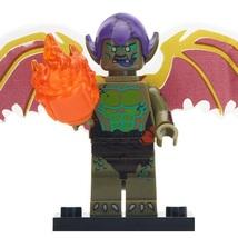 Green Goblin (Spider-verse) Marvel Spider-man Villain Lego Minifigures T... - $1.99
