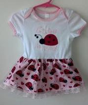 Infant Bodysuit Skirt Ladybug Size 12 - 18 Months plus Headband - $21.95