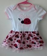 Infant Bodysuit Skirt Ladybug Size 12 - 18 Mont... - $21.95