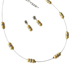 The Pretty Yellow Pearl Jewelry Birthday Or Anniversary Gift - $15.98