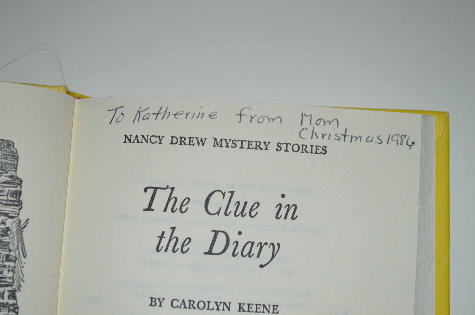 Nancy Drew Book 7  The Mystery in the Diary