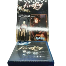 Firefly -The Complete Series (Blu-ray 3-Disc Set) + (Malcom Reynolds Fig... - $21.95