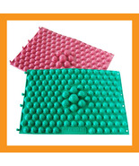 Acupuncture foot massage mat massager medical therapy pad non slip bath ... - $15.50