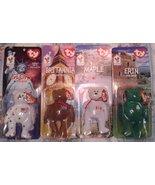 McDonalds International Ty Teenie Beanie Babies ~ ERIN, GLORY, MAPLE, BR... - $8.95