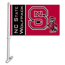 North Carolina State Wolfpack Car Truck Premium Flag Window Banner + Pole - $13.98