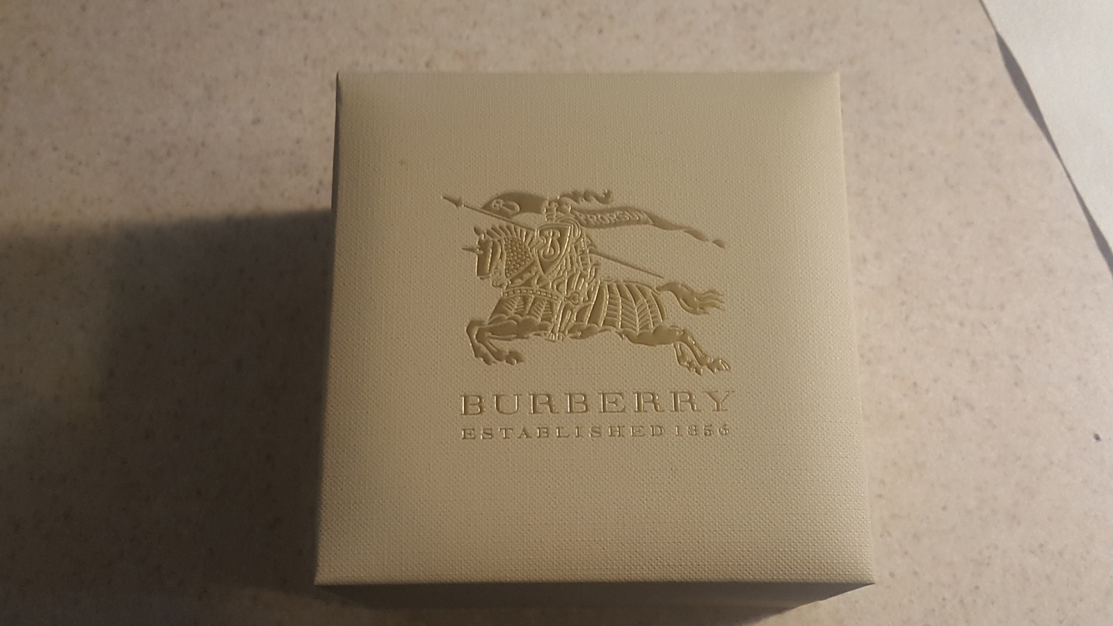 NWT *AUTHENTIC* Burberry BU10102 Women's Swiss Red Leather Strap Watch image 7