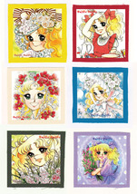 CANDY CANDY anime CLOTH PATCH SET 5 ( 6 patches ) - $19.00