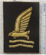 WWII Sitting Duck Bullion Badge  (aka Sea Squatters Club) c - $13.00
