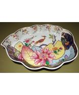 Mottahedeh Tobacco Leaf Pattern Decorative Pott... - $172.95