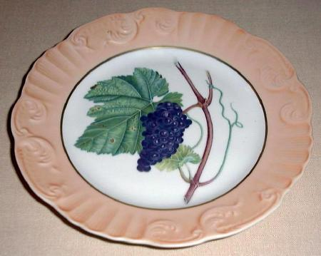 Mottahedeh  grape plate