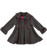 Peaches 'N Cream Toddler Girls Fleece Jacket with Ruffle Trim  - $43.00