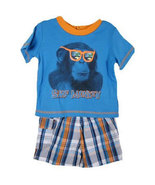 "Toddler Boys ""Surf Monkey"" Short Set - $32.00"