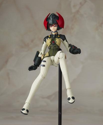 Fraulein Revoltech: Evangelion 2.0: Makinami Mari Illustrious Ver. 2 Figure NEW!
