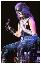 KISS Band Peter Criss ALIVE II Era Poster Reproduction Stand-Up Display ... - $15.99