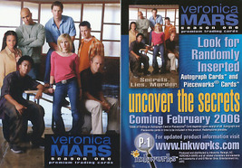 Veronica Mars Season One P-1 Promo Card - $4.00