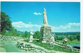 New Hampshire Postcard Enfield Shrine of Our Lady of Salette The Assumption - $2.84