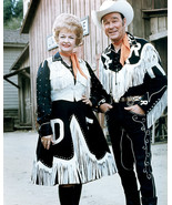 Roy Rogers 8x10 Photo later pose with Dale Evans - $7.99