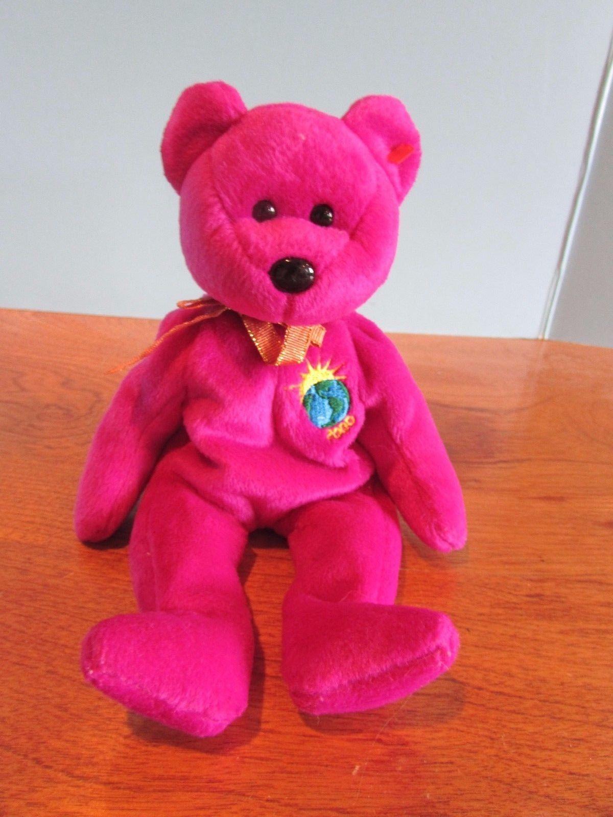 60790bd775e Ty Beanie Babies Baby Plush Bear Millennium and 33 similar items. 57